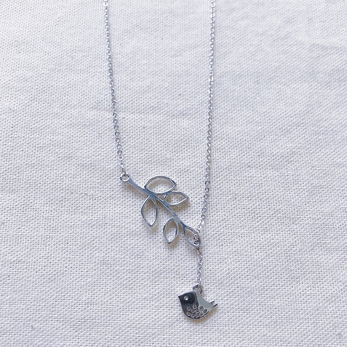 [925 Silver] Windflower Necklace