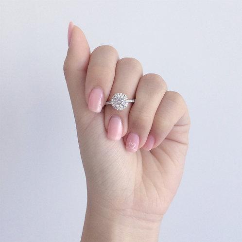 Isabella Halo Ring