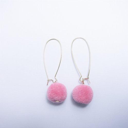 Faye Baby Pink Pom Drops