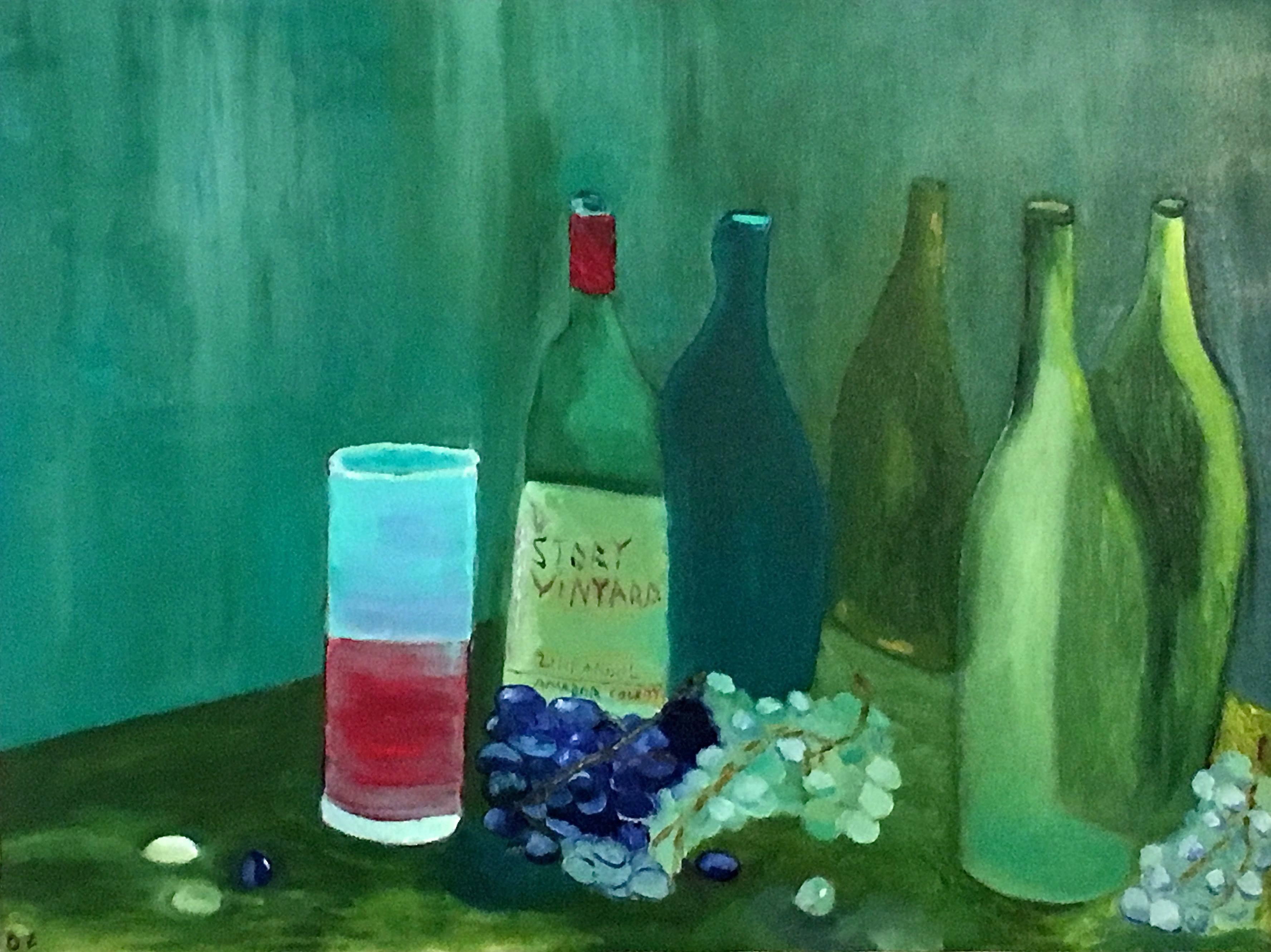 grape bottles