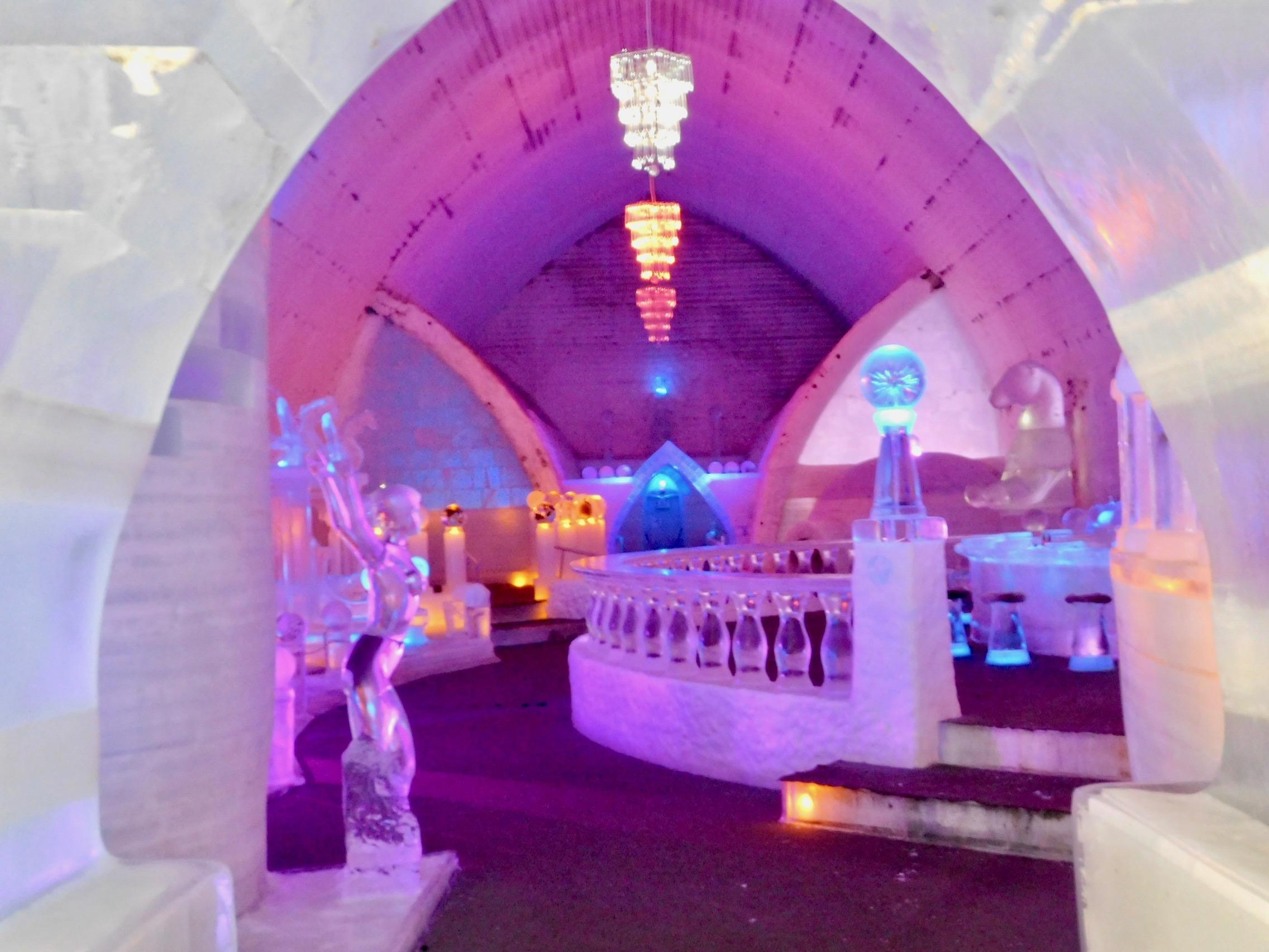 Aurora Ice Museum Gallery by Denise Ferree