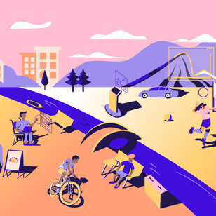 Landing Page Design, Illustrations