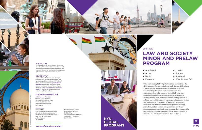 NYU Prelaw Program
