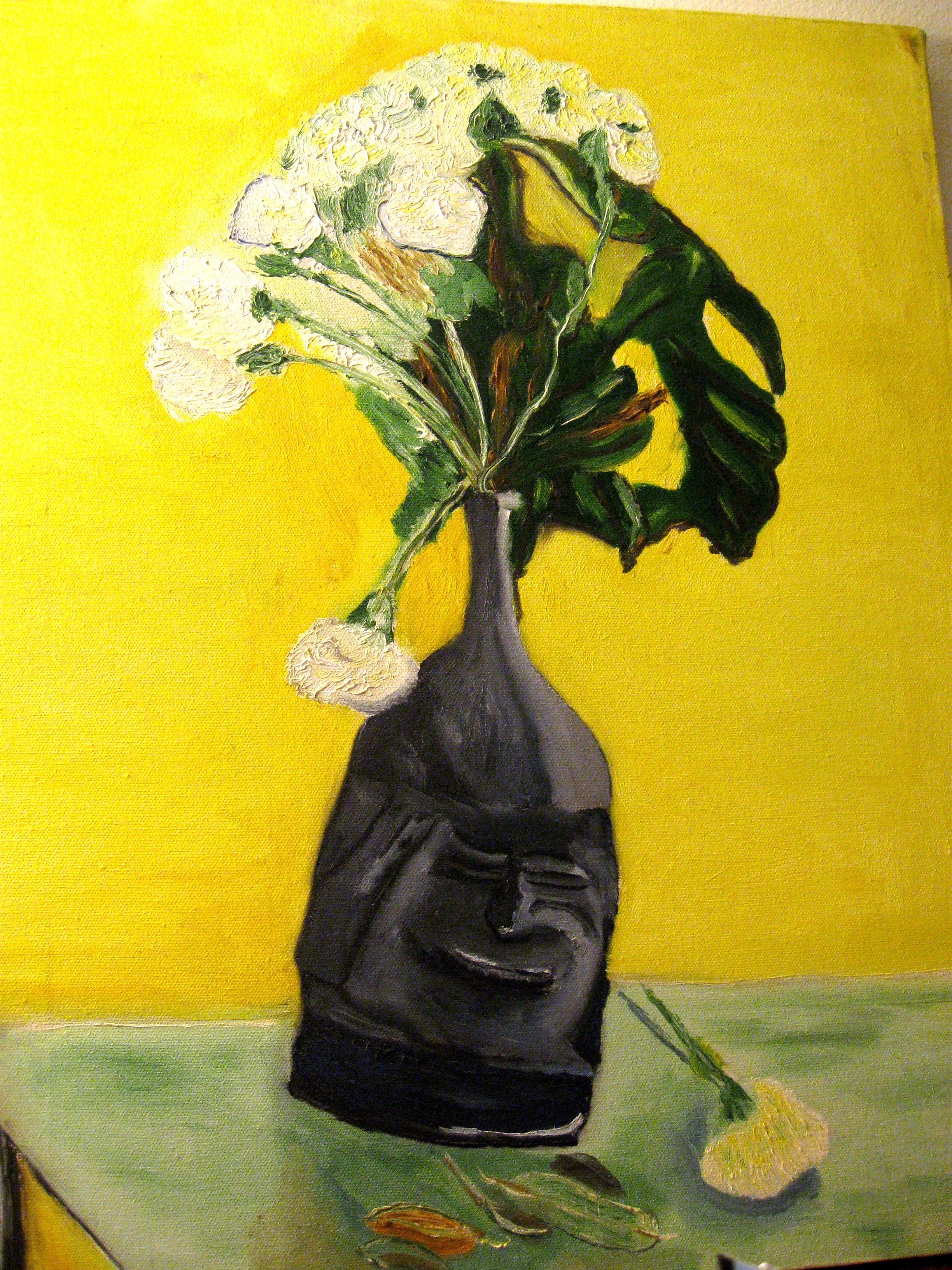 smiling vase