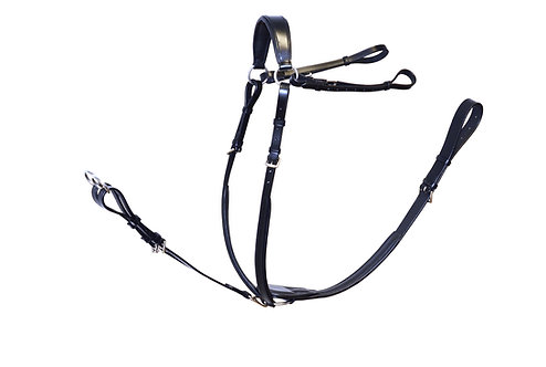Ascot Comfort Padded Breastplate with Running Attachment