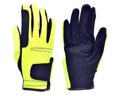 Adult Ultra Safety Grip Glove Luminous