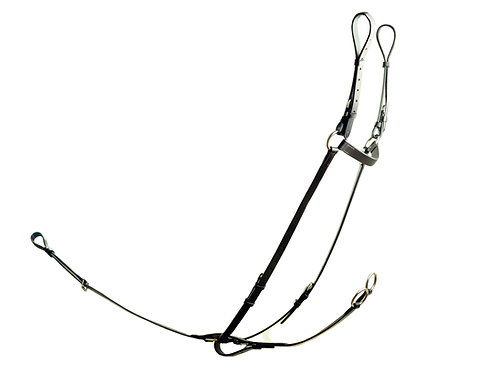 Ascot Breastplate with Running Attachment