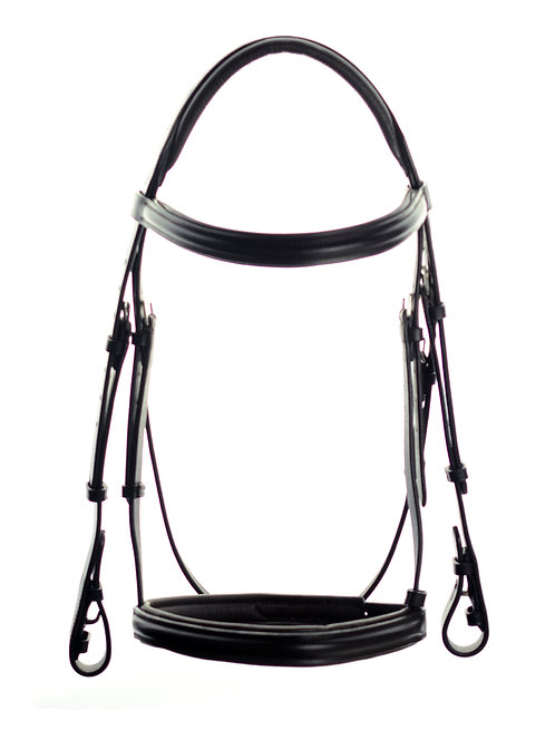 Ascot Comfort Padded Show Bridle