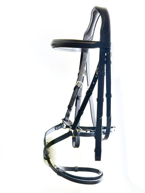 Classic Comfort Padded Grackle Bridle