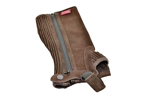 Adult Suede Leather Half Chaps