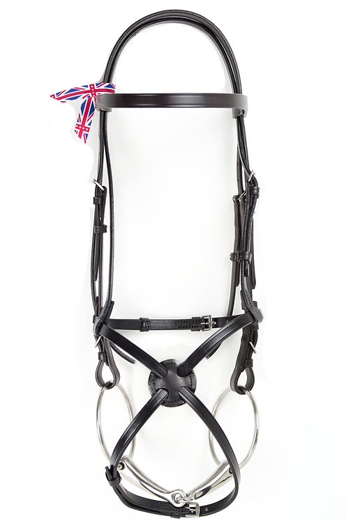 Classic Grackle Bridle for Racing