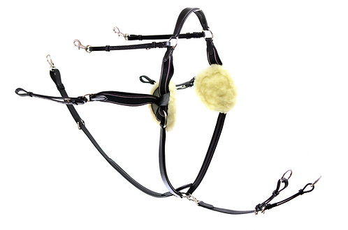Ascot 5 Point Breastplate (With Elastic Sides)