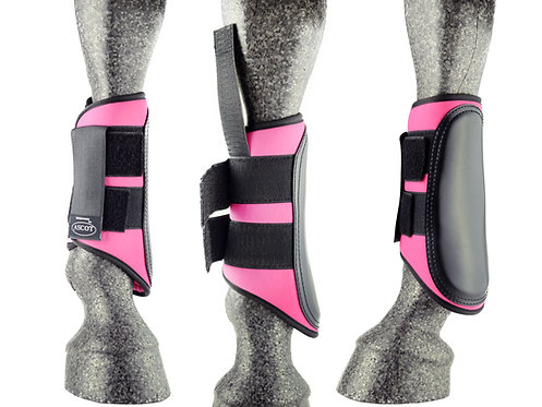 Ascot Synthetic Brushing Boots Colours