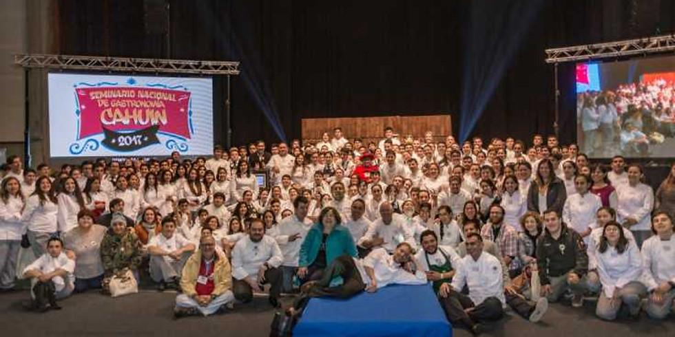 Cahuin Seminario Nacional de Gastronomía