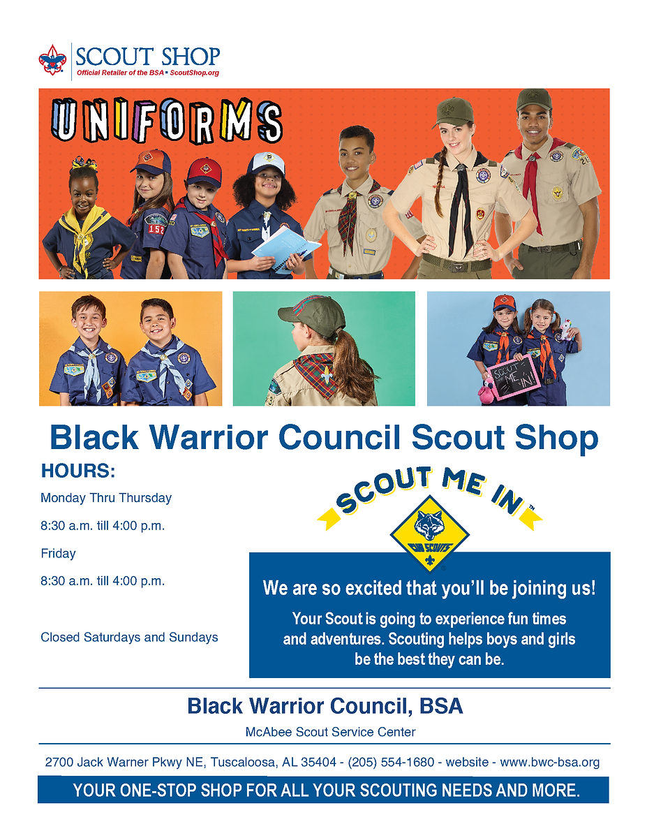 2020 BWC Wholesale Uniform Offer - Flyer