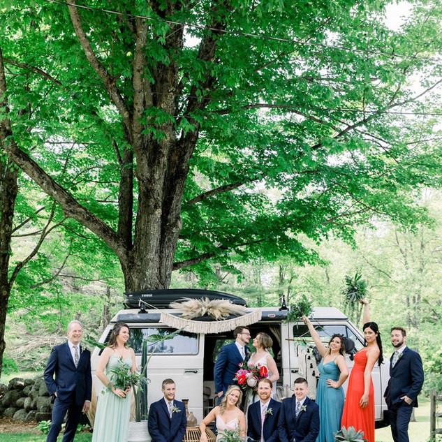 Vintage Bridal Party