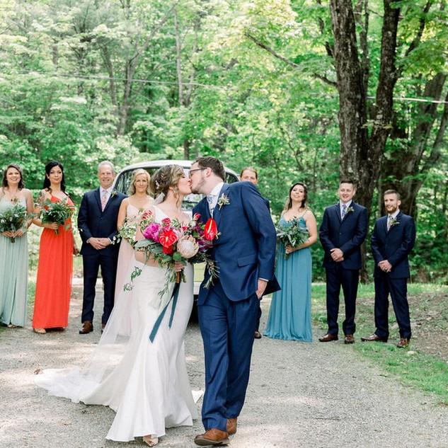 Bohemian Bridal Party