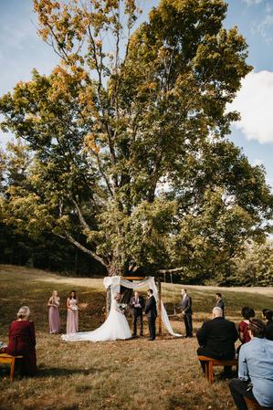 Ceremony Under Maple Tree