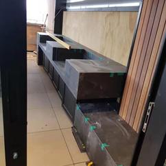 External BBQ Area Tiling