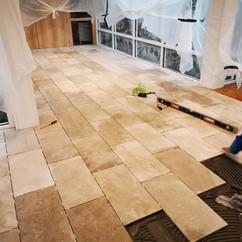 Stone Tiles Tiling