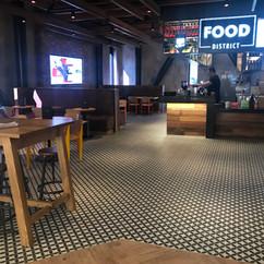 Floor Tiling at Hotyz Entx