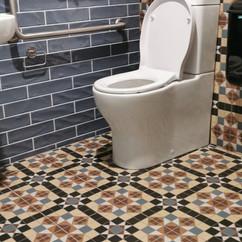 Bathroom Tiling at Kaiser bar Riverside