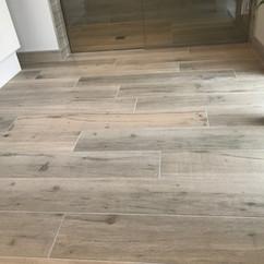 Bathroom Floor Tiling