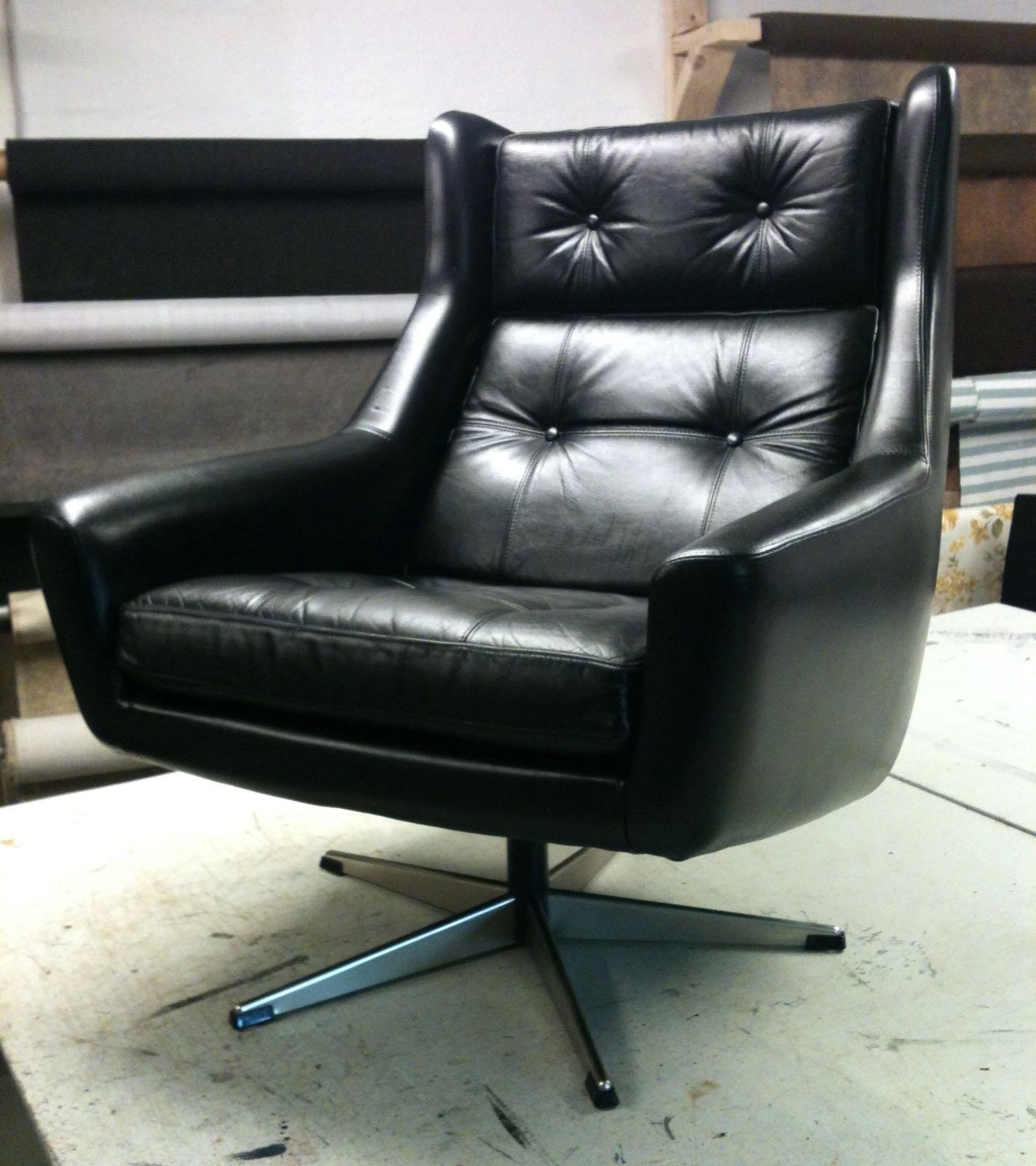 polstring af læderstol