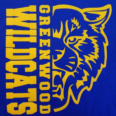Greenwood Wildcats (Print)