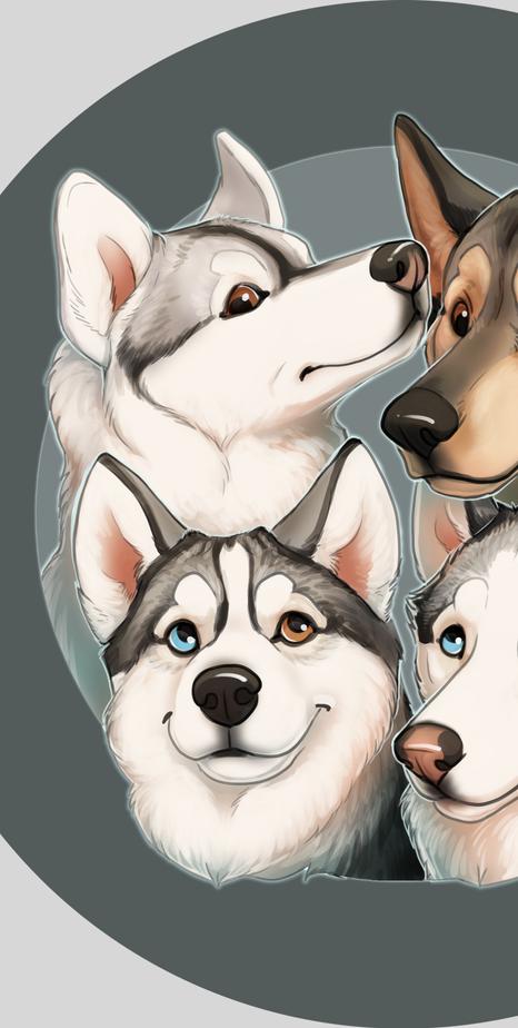 Aspen, Asia, Grey, and Luka!