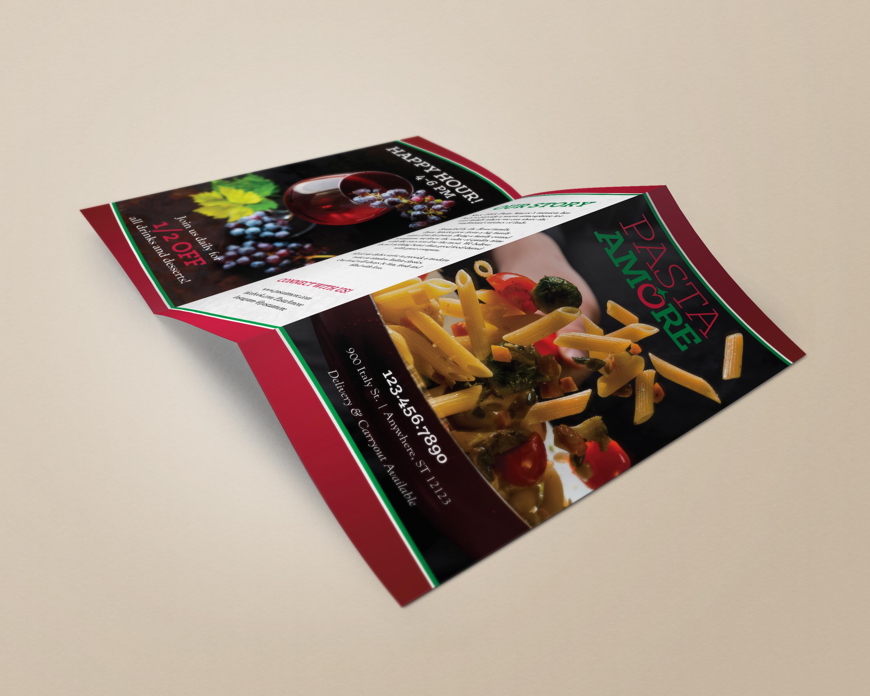 Brochure Menu- Back