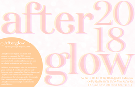 Afterglow Font