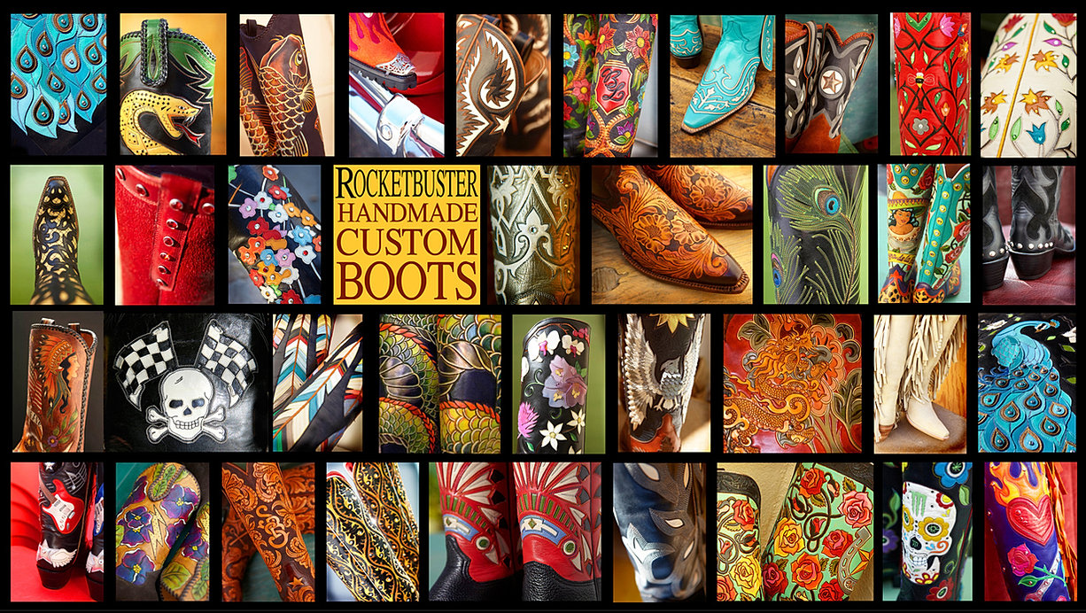 ROCKETBUSTER HANDMADE CUSTOM BOOTS The Official Website
