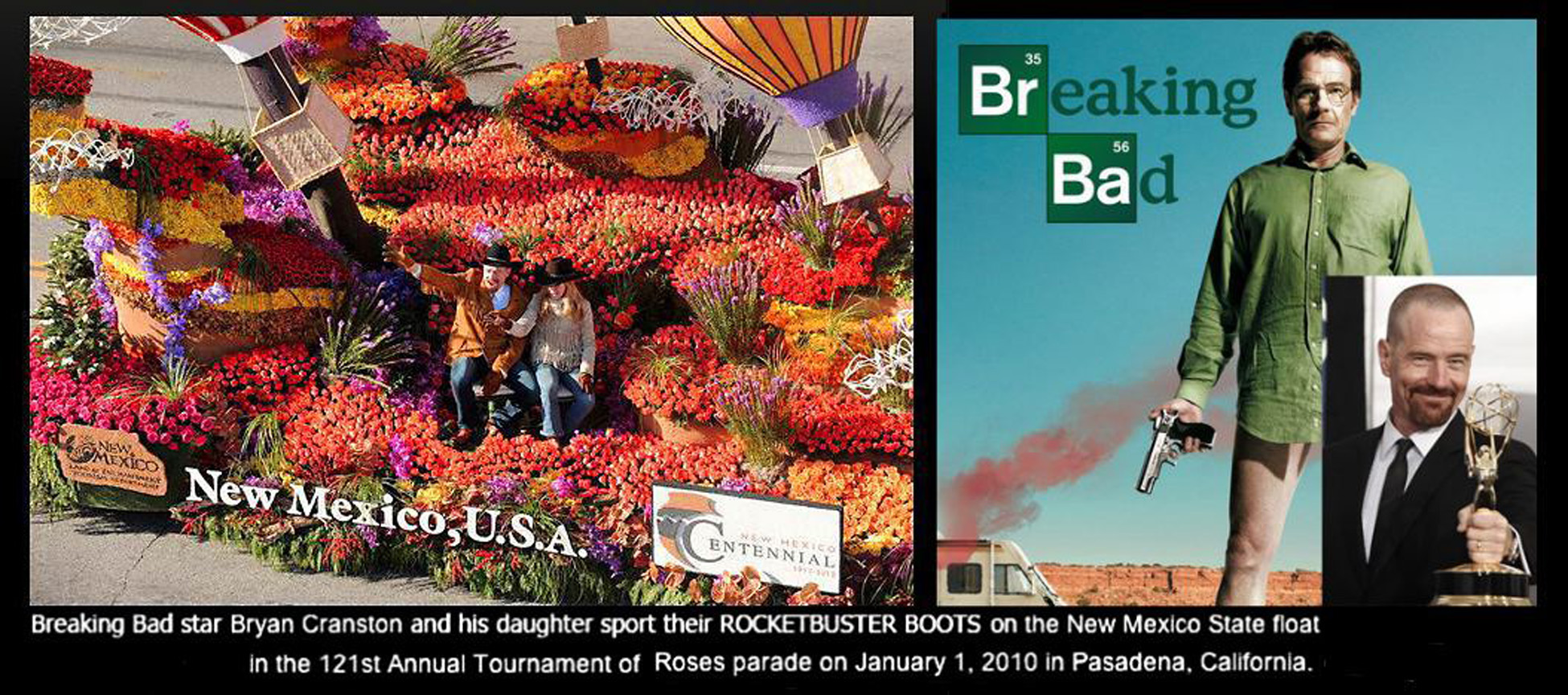Breaking Bad Rose Parade
