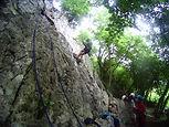 Cascade dans e canyon de Labrénère à Lescun