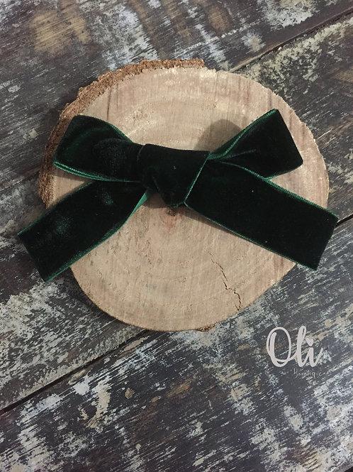 Velvet classic bow • Laço clássico veludo
