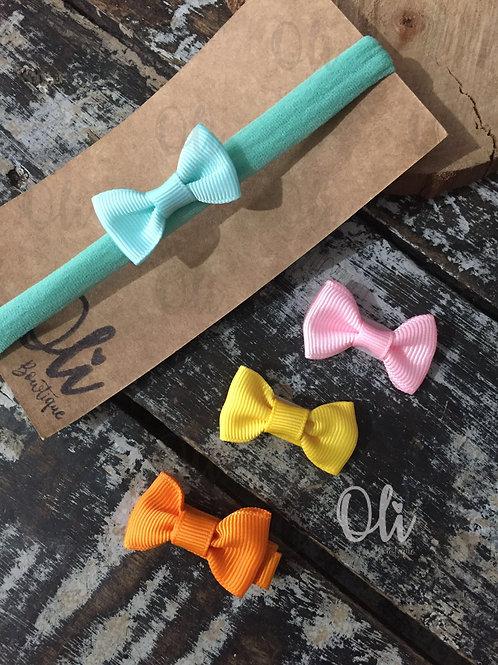 Mini Lia bows • Laços Lia mini