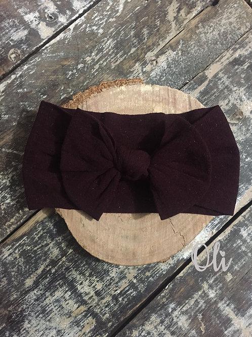 Super soft and comfy headband • Faixa de meia de seda com lacinho