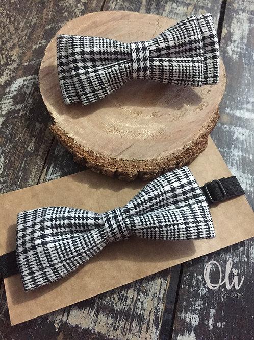 Interchangeable bow tie and hair bow set • Kit laço e gravata adaptável