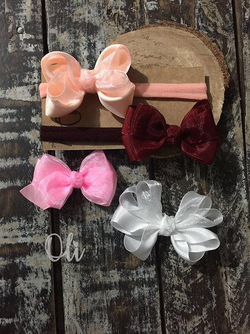 Organza bow • Laço organza