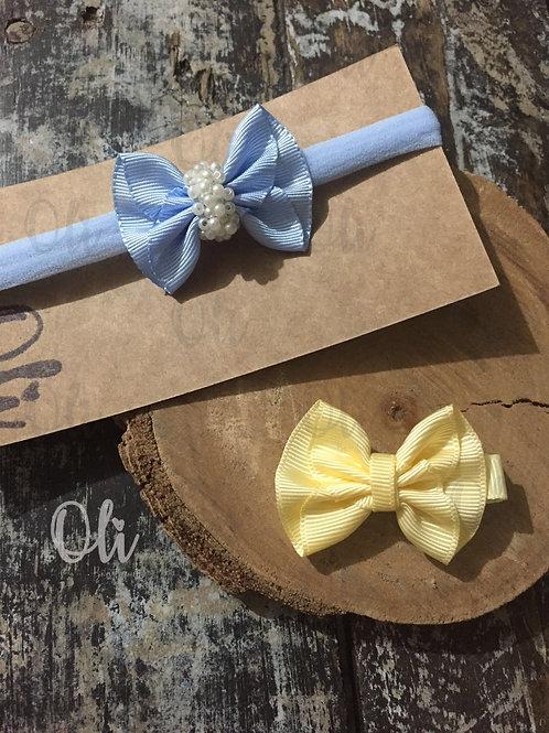 Mini Amber bow •  Laço Amber mini