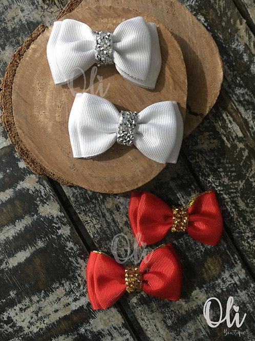 Mila pigtail bow • Parzinho laço Mila