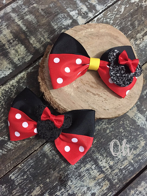 Minnie bow • Laço Minnie