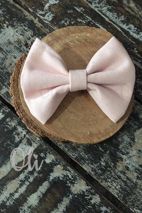 Linen Lia bow (L) • Laço Lia linho (G)