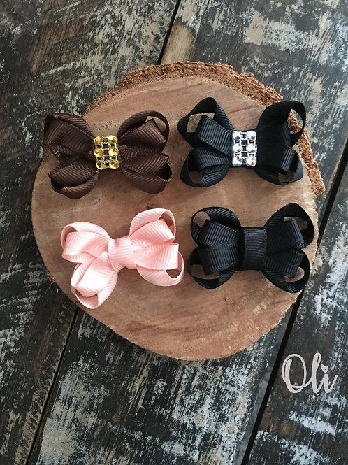 Mini Claire bow • Laço Claire mini