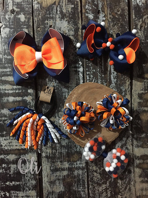 Back to school bow set • Kit laço escolar