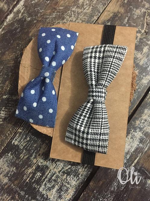 Interchange bow tie set • Kit gravatinha adaptável para meninos