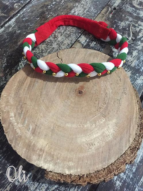 Christmas headband • Faixa de Natal