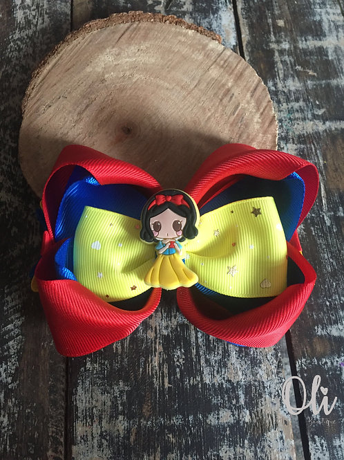 Snow White bow • Laço Branca de Neve