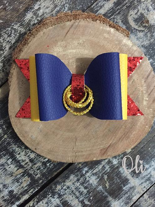 Wonder woman bow • Laço mulher maravilha lonita